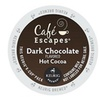 Cafe Escapes Dark Chocolate Hot Cocoa K- Cups