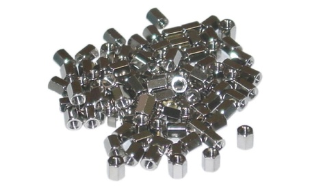 Cable Hex Nut, # 4 - 40, 100 Pieces, 5.0mm b52ed0b6-d359-4d7b-ac7b-10100cb594c1
