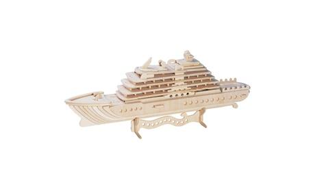 Luxury Yacht Wooden Puzzle a086e4d2-3a1e-43da-ab37-013d4143a1d7