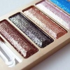 5-Color Glitter Eye Shadow Palette