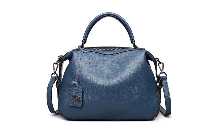 befbfd7bde2 ZOOLER Womens Leather Vintage Handbags Shoulder Handbag   Groupon