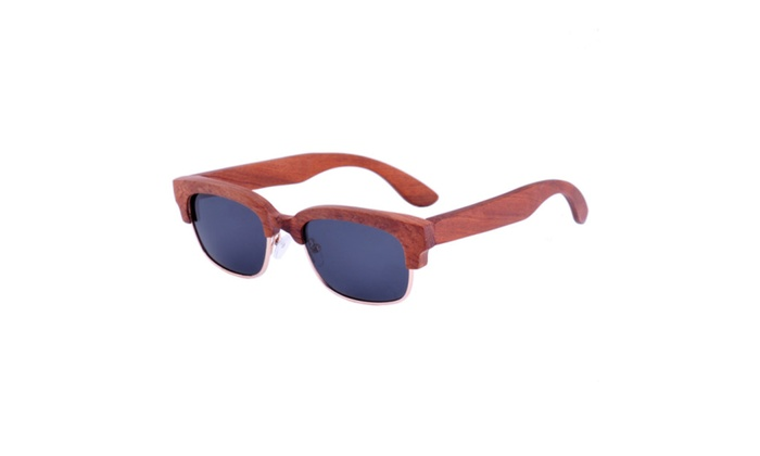 Wooden Sunglasses Rosewood with Polarized Lens- Ziba Wood