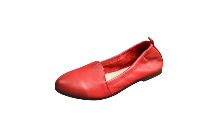 Women Ladies Round Toe Fashion Flats Shoes