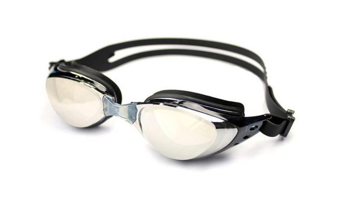 Ispeed Mirror Pro Swim Goggle - Black
