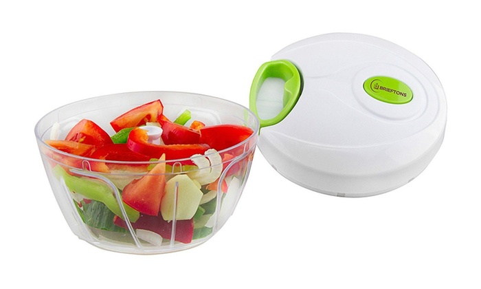 Manual Food Chopper, Hand Held Vegetable Chopper/Mincer/Blender ...