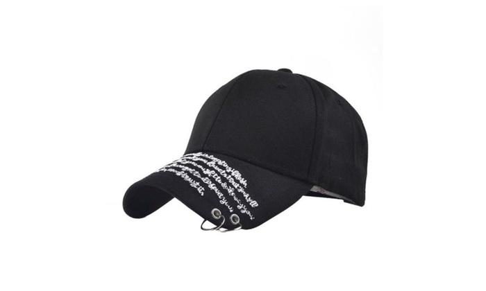Men's Snapback Adjustable Ornament Simple Baseball Cap