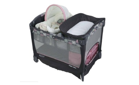 Graco Pack 'N Play Playard with Cuddle Cove Baby Seat, Addison a1ca5934-b2e2-44c5-a0be-9a8897637bd5