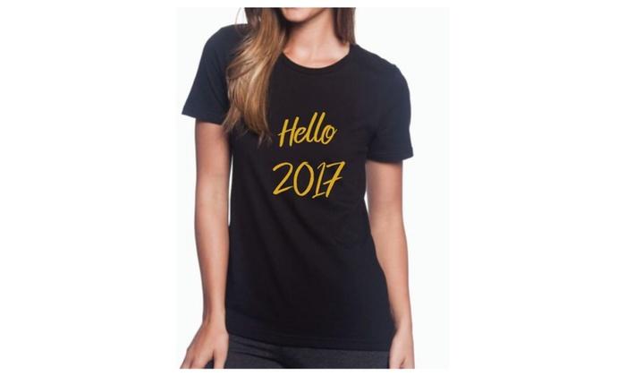 Hello 2017 Womens Shirt