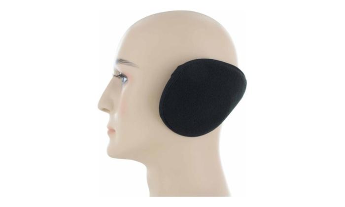 Ear Muffs Winter Ear warmers Fleece Earwarmer Unisex – random
