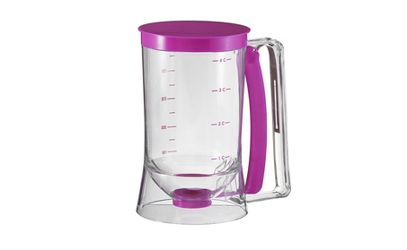 4 cup Batter Dispenser for Pancakes, waffles, Cookies and Cupcakes b5ae3e68-c9e6-4a62-a588-6ccccec771c6