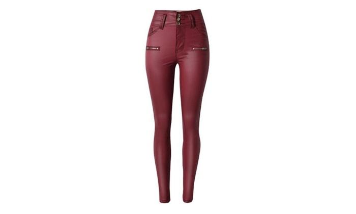 Women's High Rise Fashion Long Casual Insulation Trousers
