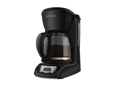 BLACK+DECKER 12-Cup Programmable Coffeemaker, Black, DLX1050B a3c34be4-7ca6-422e-8ec3-beda36e41dff