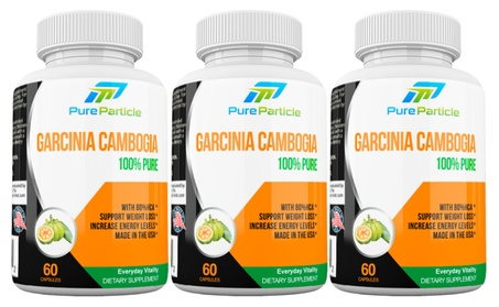 Premium Garcinia Cambogia Supplement Pills for Weight Loss, Combo 3 x