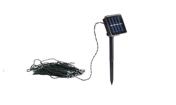 Solar-Powered Lightup Led String Lights
