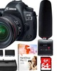 Canon EOS 5D Mark IV 30.4 MP DSLR Camera plus EF 24-70mm IS USM Lens Kit