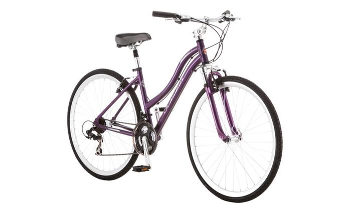 Schwinn 700C Women's Odana Hybrid Bike Bicycle - Purple