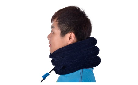Inflatable Cervical Neck Traction Device for Neck Pain Relief, Shoulde