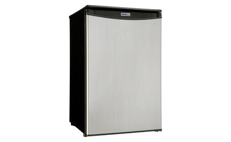Danby DAR044A5BSLDD Compact Refrigerator, Spotless Steel, 4.4 Cu ft photo