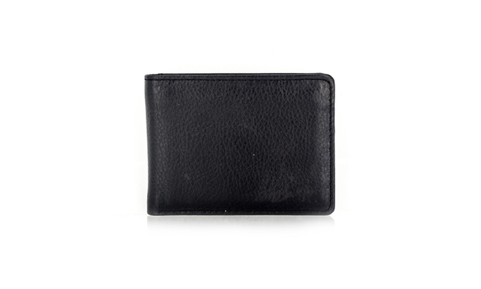 Faddism YAALI Series Men's Genuine Leather Bifold Wallet