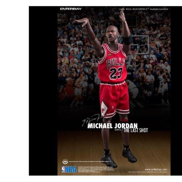 detailed look 517cc a943b Enterbay X Nba (RM-1058) Michael Jordan Series 2 The Last Shot Figure