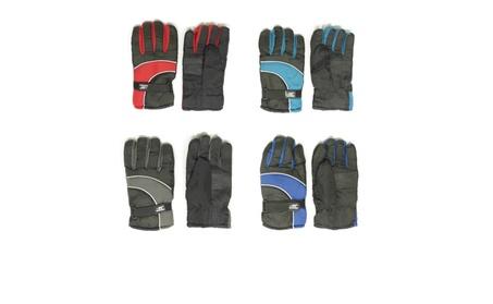 Mens Insulated Winter Waterproof Adjustable Snow Ski Gloves 1301c552-64dd-4e54-95af-4bca221332d4