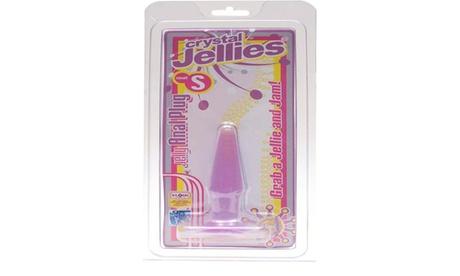 Anal Plug Small Purple Jellie 87060474-21b2-44f8-8fb4-e96d66a9caa3