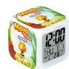 Digital Vintage Plastic Alarm Clock Led Light 7 Color Change