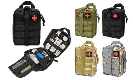 Tactical MOLLE Rip-Away EMT Medical First Aid Kit IFAK Pouch Outdoor Survival
