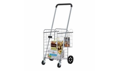 Grocery Utility Shopping Cart, Folding Utility Cart
