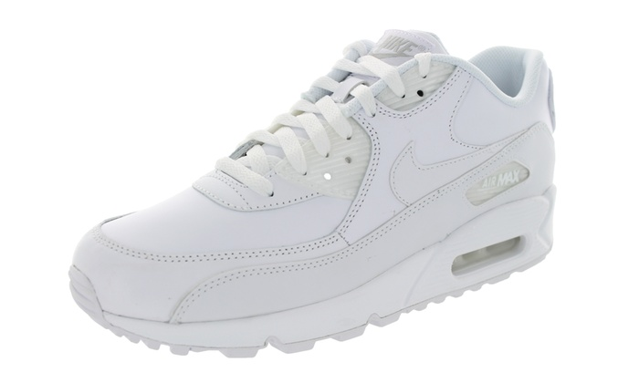 new styles 1476a b82f5 Nike Men s Air Max 90 Leather Running Shoe