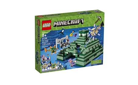 LEGO Minecraft The Ocean Monument 21136 Building Kit 1122 Piece 13c94f80-5c5a-42d6-bf0e-c52cfad7bb4d