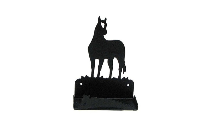 Metal horse business card holder for office groupon metal horse business card holder for office colourmoves