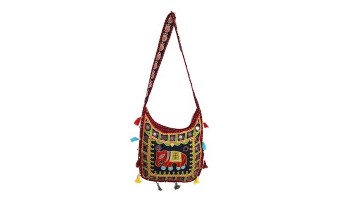 Ethnic Indian Cross-Body Bag