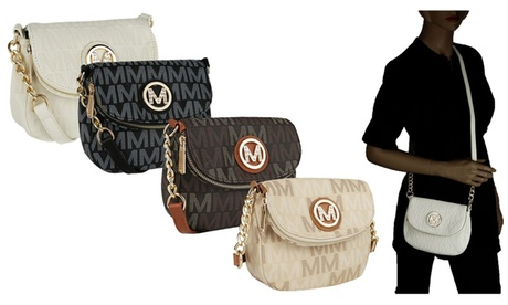 MKF Collection by Mia K. Farrow M Signature Saddle Crossbody Bags