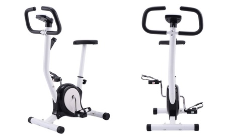 Exercise Bike Stationary Cycling Fitness Cardio Aerobic Equipment Gym