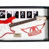 Aerosmith - Signed Electric Guitar Autographed in Wood Frame