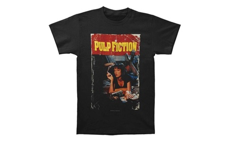 Pulp Fiction Pulp Fiction Fitted Jersey Tee c3995a97-779e-4007-9f97-45630660991a