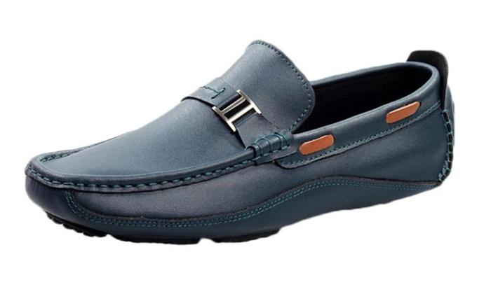 Men's Ventilation USB hub Loafers