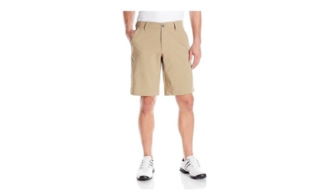 Under Armour Mens Match Play Shorts - 32 - Canvas/True Gray Heather c8a23173-5d33-4c50-954f-e5adfb20198a