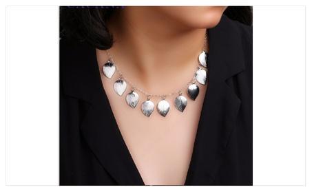 Necklace Peach Heart Pendant Necklace for Women fc411e3b-7877-4b33-80b3-fa58eb5d34ec