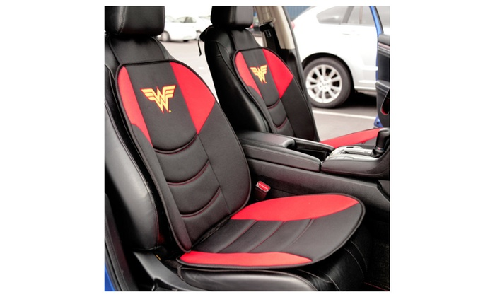 Wonder Woman Padded Front Car Seat Cushion Chair Cover