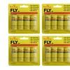 16 Pcs Fly Paper Strips, Fly Catcher Trap, Fly Ribbon, Fly Bait