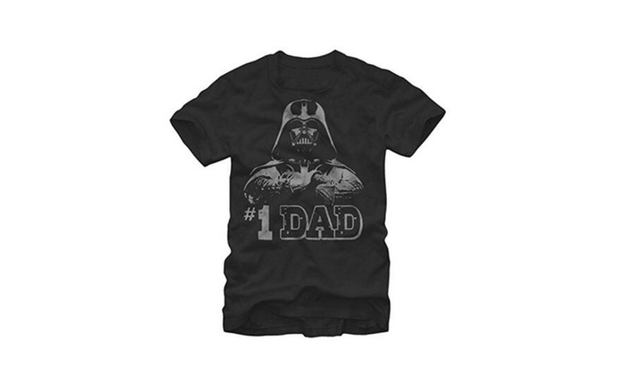Star Wars #1 Dad Darth Vader Father's Day Mens T-Shirt
