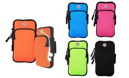 Shop Groupon Sport Armband Running Arm Band Pouch Holder Bag Case For Cell Phone