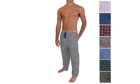 (3-Pack) Mens Woven Lounge Pants 3eeb9b16-7379-4b90-bce8-9dd49e2c4d2e