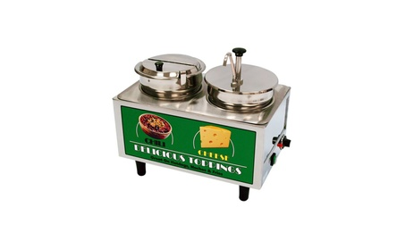 Bench Mark Chili & Cheese Warmer 1 Pump, 1 Ladle/Lid 8f64c8b9-fcba-4281-abe2-a3c578c332bf