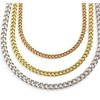 "Unisex Stainless Steel Curb Chains 16""-30"""