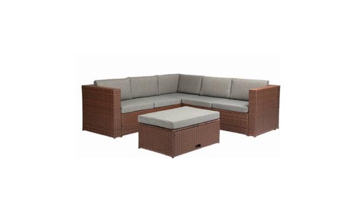 dc5b2dd037e2 Baner Garden Outdoor Furniture Complete Patio Cushion PE Wicker Rattan