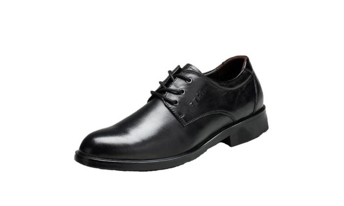 Men's Lace up Low Heel Dress  Boat Shoes