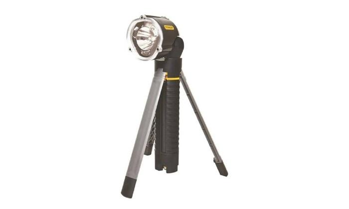 Stanley 95-112b Tri Pod Flashlight Max Life Non Slip Grip, Led 3 Aa